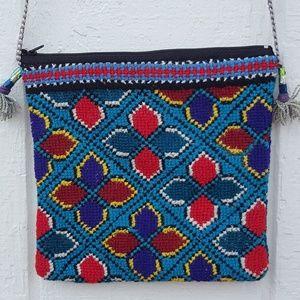 Handbags - Boho Needlepoint Mini bag Get Festival Ready